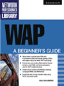 Foto Cover di WAP, Ebook inglese di Dale Bulbrook, edito da McGraw-Hill