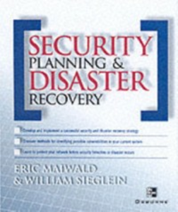 Ebook in inglese Security Planning and Disaster Recovery Maiwald, Eric , Sieglein, William