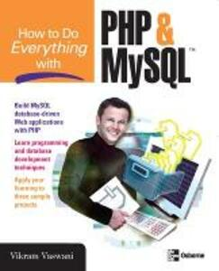 How to Do Everything with PHP and MySQL - Vikram Vaswani - cover