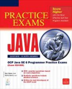 Libro Scjp Sun Certified Programmer for Java 6. Practice exams Bert Bates , Kathy Sierra