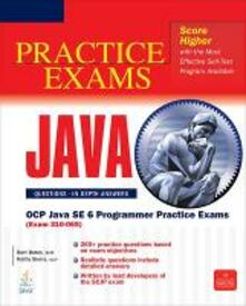 Scjp Sun Certified Programmer for Java 6. Practice exams - Bert Bates,Kathy Sierra - copertina