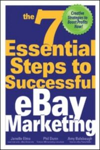 Ebook in inglese 7 Essential Steps to Successful eBay Marketing Balsbaugh, Amy , Dunn, Phil , Elms, Janelle