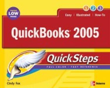 Ebook in inglese QuickBooks 2005 QuickSteps Fox, Cindy