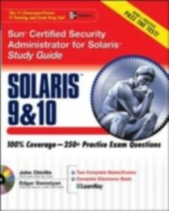 Ebook in inglese Sun Certified Security Administrator for Solaris 9 & 10 Study Guide Chirillo, John , Danielyan, Edgar