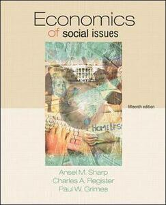 Economics of Social Issues - Richard Henry Leftwich,Ansel Miree Sharp,Charles A. Register - cover