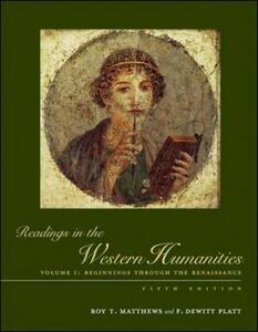 Readings in the Western Humanities - Roy Matthews,Dewitt Platt - cover