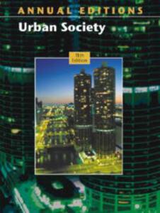 A/E Urban Society 03/04 - Siegel - cover