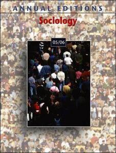 Sociology - Kurt Finsterbusch - cover