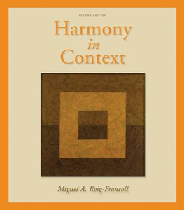 Libro in inglese Harmony in Context  - Miguel Roig-Francoli