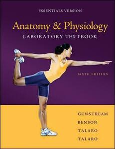 Anatomy & Physiology Laboratory Textbook Essentials Version - Stanley E. Gunstream - cover
