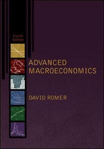 Libro Advanced macroeconomics David Romer