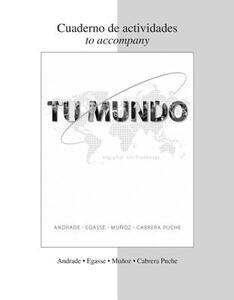 Tu Mundo: Espanol Sin Fronteras - Magdalena Andrade,Jeanne Egasse,Munoz - cover