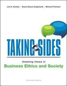 Clashing Views in Business Ethics and Society - Lisa H. Newton,Elaine E. Englehardt,Michael S. Pritchard - cover