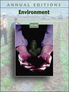 Environment 2005-2006 - Allen,John L. Allen - cover