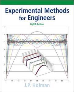 Experimental Methods for Engineers - Jack P. Holman - cover