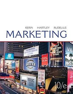 Libro Marketing Roger A. Kerin , Steven W. Hartley , William Rudelius