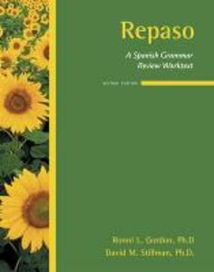 Repaso:  A Spanish Grammar Review Worktext - Ronni L. Gordon,David M. Stillman - cover