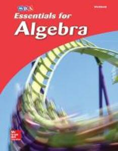 Essentials for Algebra, Student Workbook - McGraw-Hill Education - cover