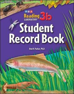 Reading Lab 3b, Student Record Book (Pkg. of 5), Levels 4.5 - 12.0 - Don Parker - cover