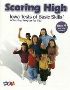 Scoring High on the ITBS, Student Edition, Grade 4 - McGraw-Hill Education - cover