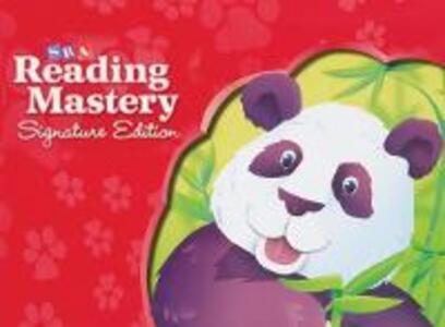 Reading Mastery Reading/Literature Strand Grade K, Seatwork Blackline Master Book - McGraw-Hill Education - cover