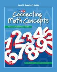Connecting Math Concepts Level D, Additional Teacher Guide - McGraw-Hill Education,SRA/McGraw-Hill - cover