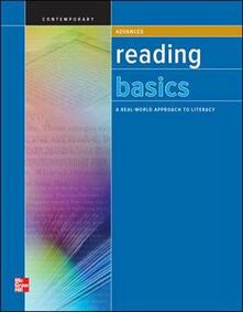 Reading Basics Advanced, Workbook - Contemporary - cover