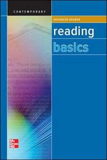 Reading Basics Advanced, Reader SE - Contemporary - cover