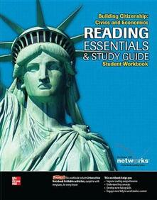 Building Citizenship: Civics and Economics, Reading Essentials and Study Guide, Student Workbook - McGraw-Hill - cover