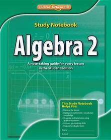 Algebra 2, Study Notebook - McGraw-Hill - cover