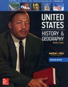 United States History and Geography: Modern Times, Teacher Edition - McGraw-Hill - cover