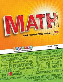 Glencoe Math, Course 2, Student Edition, Volume 2 - McGraw-Hill - cover