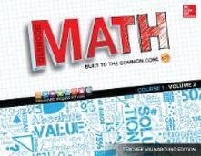 Glencoe Math, Course 1, Teacher Walkaround Edition, Volume 2 - McGraw-Hill - cover