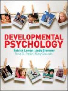Developmental Psychology - Patrick Leman,Andy Bremner,Ross D. Parke - cover