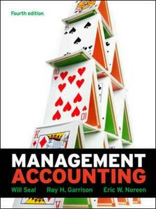 Management accounting - Will Seal - copertina
