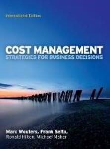 Cost management: strategies for business decisions - copertina