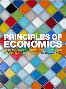 Principles of economics - copertina