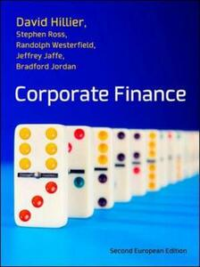 Corporate finance: european edition - copertina