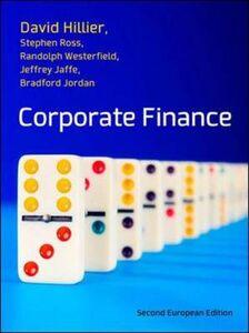 Libro Corporate finance: european edition