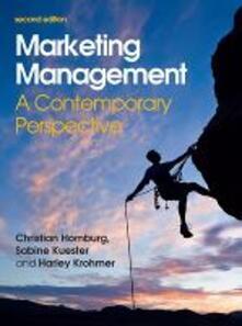 Marketing management - Christian Homburg,Sabine Kuester,Harley Krohmer - copertina