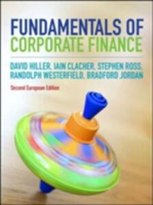 Fundamentals of Corporate Finance - David Hillier,Iain Clacher,Stephen A. Ross - cover