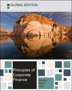 Principles of corporate finance global edition - Richard A. Brealey,Stewart C. Myers,Franklin Allen - copertina