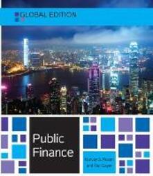 Public finance. Global edition - Harvey S. Rosen - copertina
