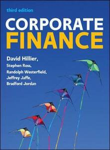 Corporate finance - David Hillier,Stephen A. Ross,Randolph W. Westerfield - copertina