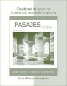 Cuaderno de practica to accompany Pasajes - Mary Lee Bretz,Trisha Dvorak,Carl Kirschner - cover