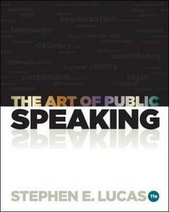 Art of Public Speaking with Connect Access Card - Stephen E. Lucas - cover