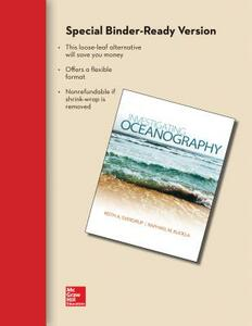 Loose Leaf Version for Investigating Oceanography with Connect Access Card - Keith Sverdrup - cover