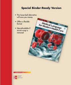 Loose Leaf for Medical Language for Modern Health Care - David Allan,Karen Lockyer - cover