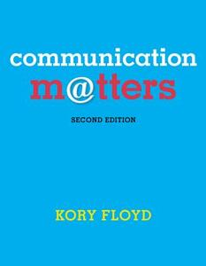 Communication Matters with Connect Plus Access Code - Kory Floyd - cover