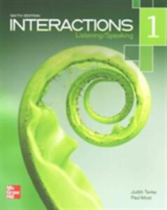 Interactions Listening/Speaking Level 1 Student Book Plus Registration Code for Connect ESL - Judith Tanka,Paul Most - cover
